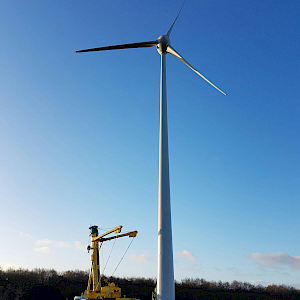 Equinox Carries Out Earthing For Diary Wind Turbine