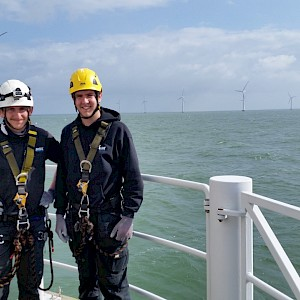 Equinox Restores Wind Turbine at The World's Most Efficient Offshore Wind Farm