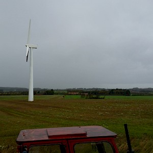 Equinox Restores Wind Turbine in Jutland, Denmark