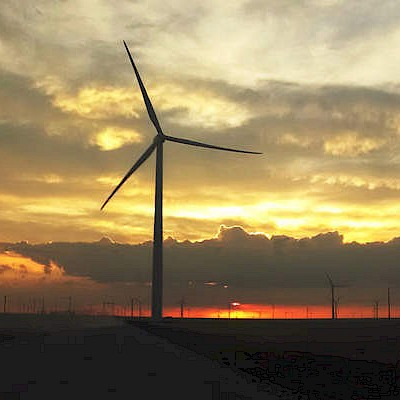 Spinning Spur Wind Farm, Texas, USA 2019 - Wind Turbine Services