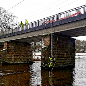 Equinox Carries Out Inspection of Road Bridges Throughout Scotland