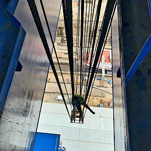 Equinox Carries Out Crane Wire Inspection & Survey
